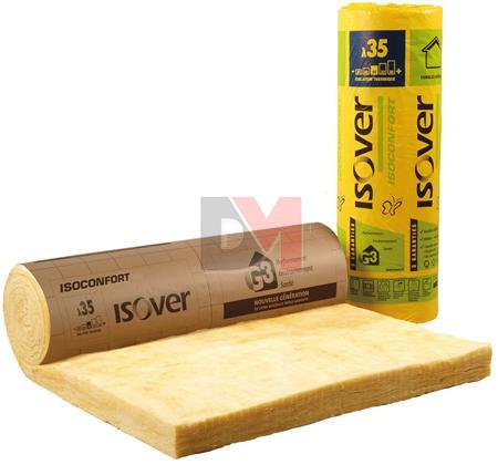 isover isoconfort 35 revetu kraft 1 2mx2m r 8 mat riaux et isolation livr s chez. Black Bedroom Furniture Sets. Home Design Ideas