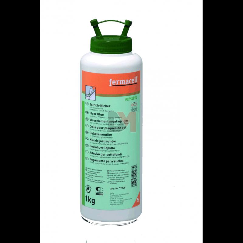 Colle pour plaque de sol fermacell greenline bouteille de for Plaque de sol fermacell prix