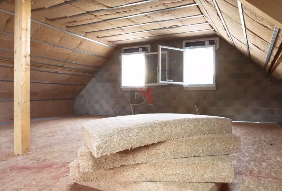 Isoduo 36 fibre de bois laine de verre 1 20x0 60x100mm r for Laine de verre 300 mm isover