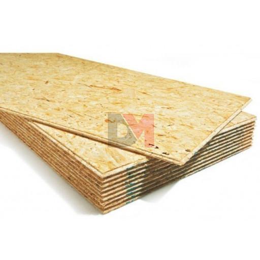 Dalle plancher osb 4 rainures languettes ep 22mm format 2500x625mm isolation phonique - Isolation phonique plancher ...