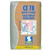 Enduit Rapide pour traitement des joints plâtre CE 78 4 h - 25 kg (0.66 kg/m²) CE7804 de Semin