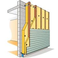 Isolation murs extérieurs et sous bardage