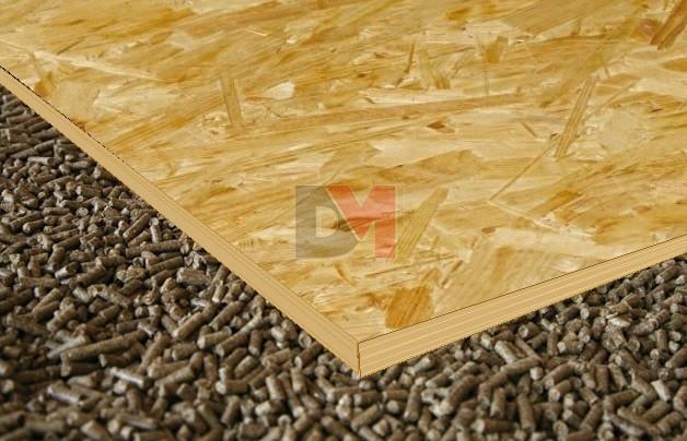 Biofib chape granules pour sol au meilleur prix - Chape seche sur plancher bois ...