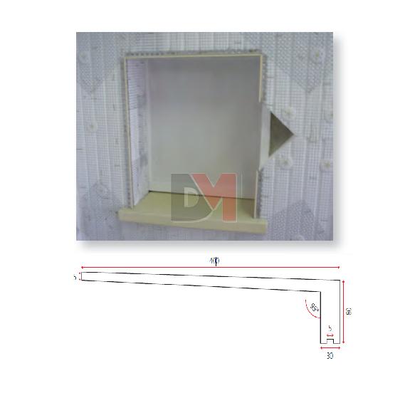 New Appui De Fenêtre Polyester 1400*400mm