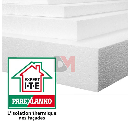 Polystyrene expanse ep 60mm format r 1 for Isolation exterieure polystyrene expanse