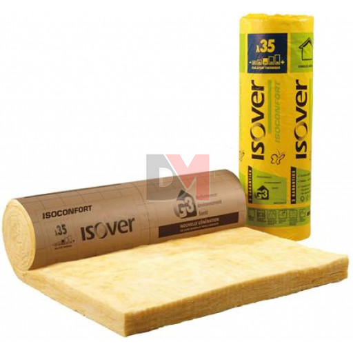 ISOVER ISOCONFORT 35 REVETU KRAFT | Ep.160mm 1,2mx3,7m | R=4,55