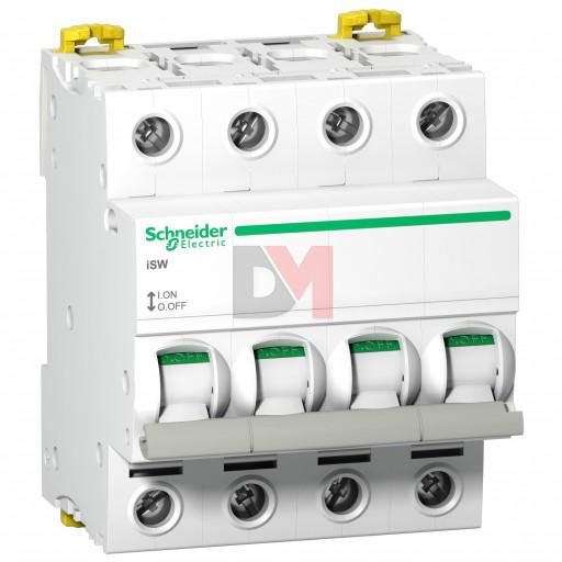 Acti9, iSW interrupteur-sectionneur 4P 125A 415VAC