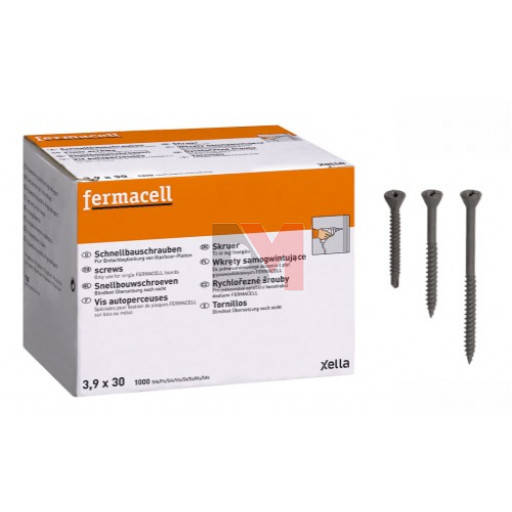 Vis autoperceuses Fermacell 3,9 x 30 mm (250)