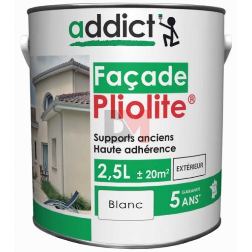 ADDICT Façade 100% pliolite 2,5L blanc