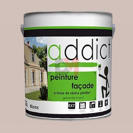 ADDICT Façade 100% pliolite 2,5L ton pierre