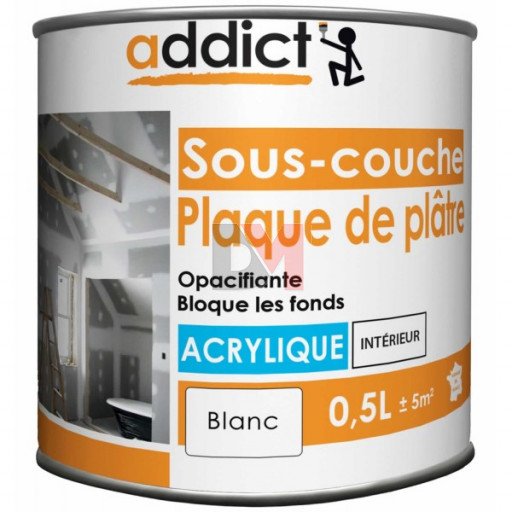 ADDICT Sous-couche acrylique 0,5L blanc