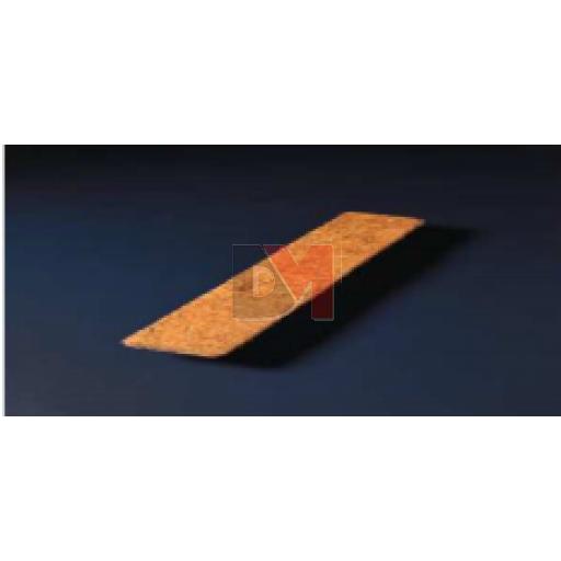 Bande en fibre de coco Long. 1,250m Larg. 10cm - Ep. 10-13mm (parquet de 50 unités)
