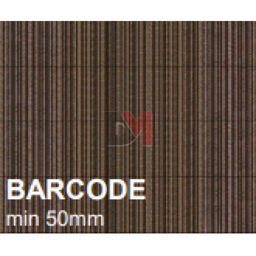 Lot de 3 panneaux MD Façade Intér/Extér 50x100cm BARCODE ep.100mm