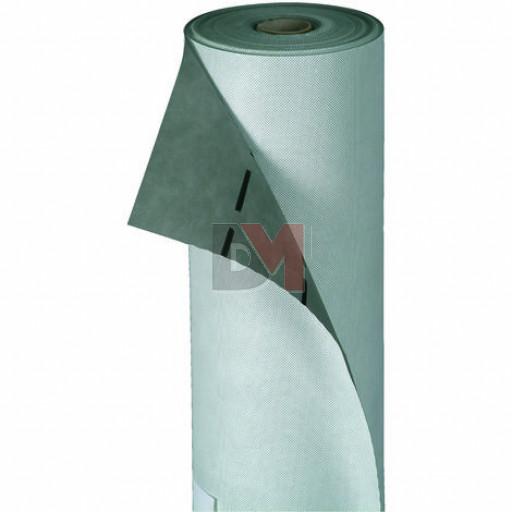 Rouleau écran de sous toiture triple couches 120g/m² HYGROV+ M3000 HPV pare-pluie pour isolation HPV - Haute perméabilité à la vapeur d'eau -  résistance aux UV 3 mois (37.5m²)