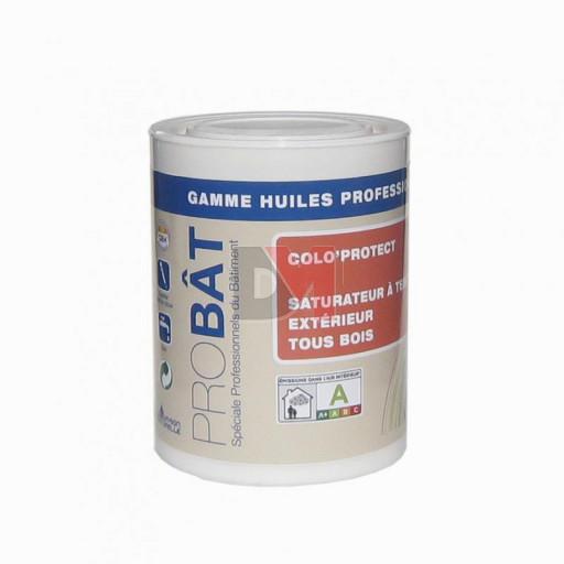 Colo protect saturateur exterieur tous bois a teinter 1l au meilleur prix - Saturateur bois exterieur ...