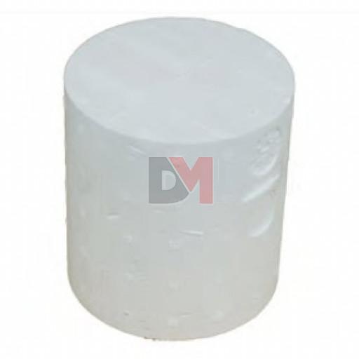 Cylindre de montage traversant en polystyrène diam 90 pour ép. isolant 280mm