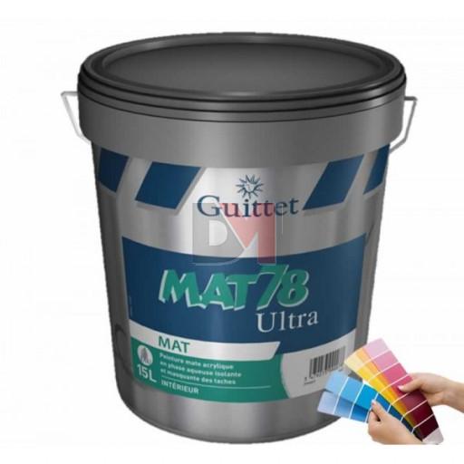 GUITTET Mat 78 Ultra 3L blanc
