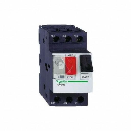 SCHNEIDER ELECTRIC DISJONCTEUR MOTEUR GV2ME 2,5 À 4 A 3P 3D DÉCLENCHEUR MAGNÉTOTHERMIQUE