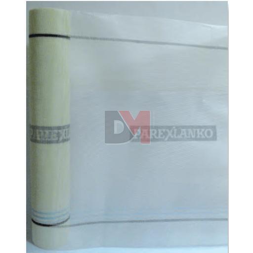 Armature de verre pour sous-enduit mince  1.1x50ml - Taille de la maille 3,5 X 3,8 mm - 160 gr / m² - Classement trame T2 Ra1 M2 E2