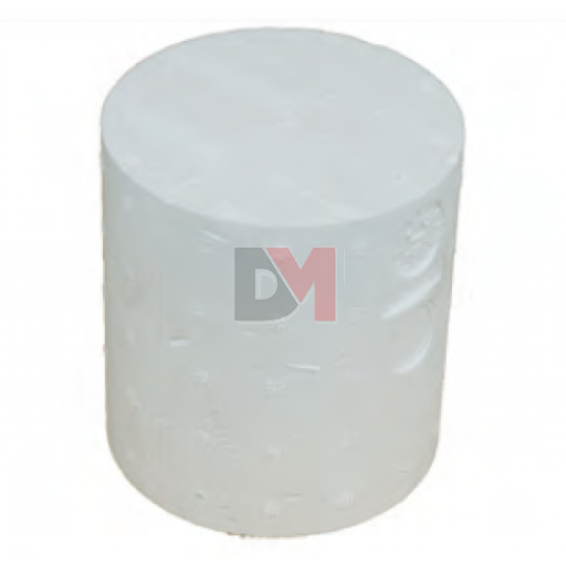 Cylindre de montage traversant en polystyrène diam 125 pour ép. isolant  220mm