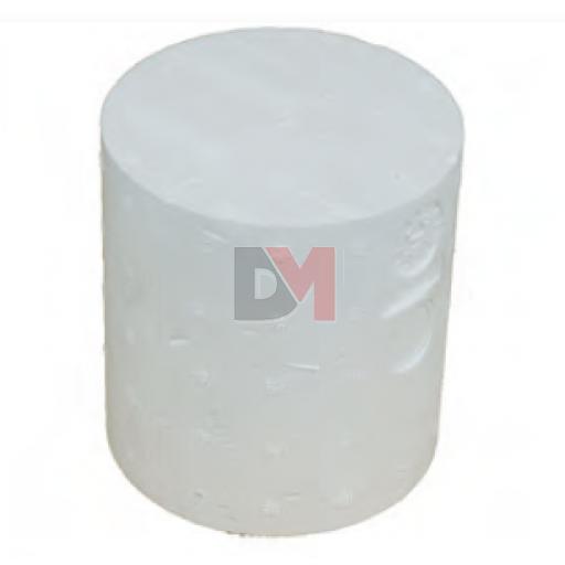 Cylindre de montage traversant en polystyrène diam 90pour ép. isolant 220mm