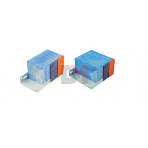 Profilé de départ réglable en PVC pour ép. isolant 100-160 pour finition mince | Femelle 100 + mâle 5 - 2ML