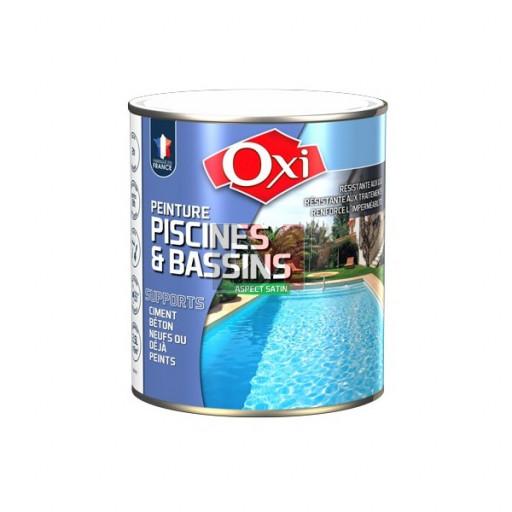 OXI Peinture piscine 0,5L BLEU
