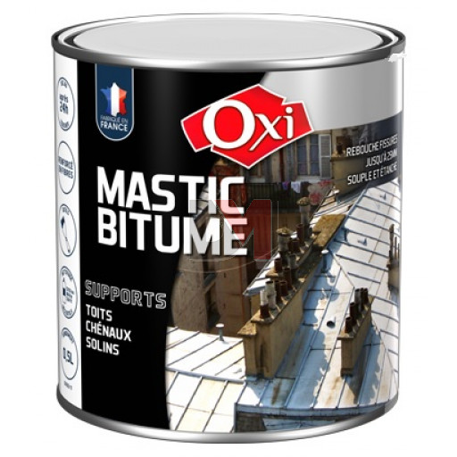 OXI Mastic bitume 0,5L noir