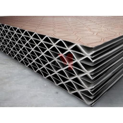 Panneaux HYBRIS Ep.125mm Long.2,650 Larg 1,200 - R:3.75