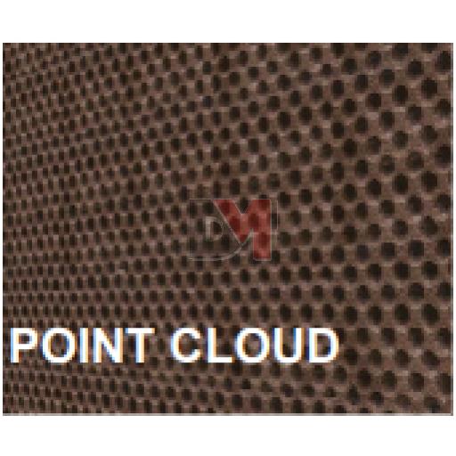 Lot de 3 panneaux MD Façade Intér/Extér 50x100cm POINT CLOUD ep.100mm
