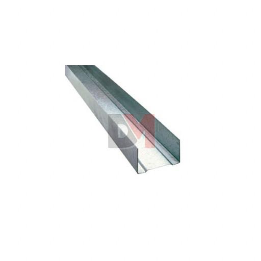 Rail type U Ep.100mm Long : 3m