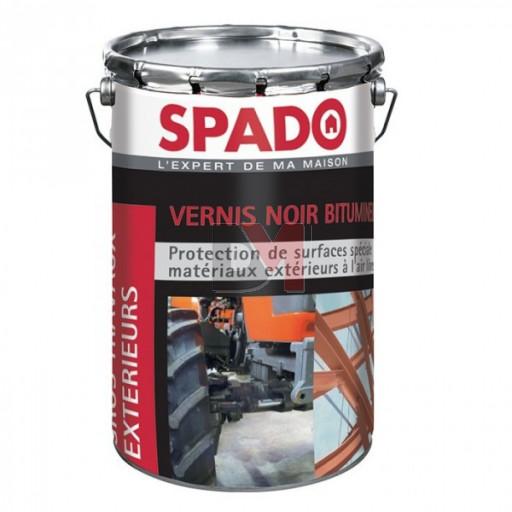 SPADO Vernis noir bitumineux 4L noir