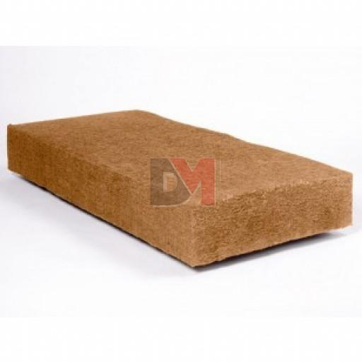 Panneau fibre de bois STEICO FLEX F   Ep. 50mm 57cmx122cm Densité=50kg/m³ R : 1,32