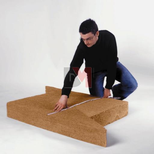 Panneau fibre de bois STEICO FLEX  TRIANGLE | COINS | Ep. 160mm 1,22mx67cm