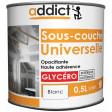 ADDICT Sous-couche universelle 0,5L blanc