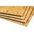 Dalle plancher OSB 4 rainures & languettes | Ep. 22mm Format : 2500x625mm