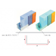 Profilé de départ en aluminium pour ép. isolant 250mm - 2,5ML