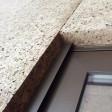 Panneau de liège expansé spécial façade extérieure brute | Bords mi-bois | D=140-160kg/m3  | Ep.80mm, 50X100cm