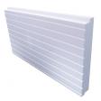 Polystyrène expansé blanc rainuré queues d'aronde | Ep. 120mm | Format 1.20x0.60 | R=2.85