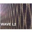 Lot de 3 panneaux MD Façade Intér/Extér 50x100cm WAVE L2 ep.100mm