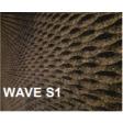 Lot de 3 panneaux MD Façade Intér/Extér 50x100cm WAVE S1 ep.100mm