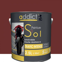 ADDICT Sol 2,5L rouge brun DELZ-ADD-51500632RGBR de ADDICT