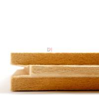 Panneau pare-pluie ISONAT DUOPROTECT d=180kg/m3  | Ep.40mm -  2475mm x575mm R : 0,90 ISONAT-DUOPROT RL 40-12025 de Isonat