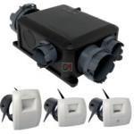 Kit VMC hygroréglable Kit VMC simple flux hygroréglable Bahia Compact micro-watt Hygro B ALDES ref.11033203 ALDES-11033203 de Aldes