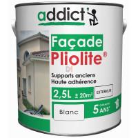ADDICT Façade 100% pliolite 2,5L blanc DELZ-ADD-51500702BLAN de ADDICT