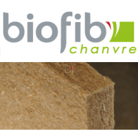 BIOFIB PANNEAU CHANVRE | Ep.45mm 1,25x0,6m | R=1,12  BIOFIBCHANVRE45-60X125-BIOCH45P de Biofib