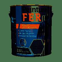BATIR Fer brillant 2,5L aluminium DELZ-BAT-51601351ALUM de RECA