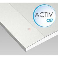 Plaque de plâtre ACTIV'AIR BA 13 1200x2600x13mm PXD PACTIVAIR de QEM