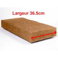 Panneau fibre de bois STEICO FLEX Largeur 36,5cm  Ep. 100mm 36,5cmx122cm Densité=50kg/m³ R : 2,63 STEICO FLEX L36.5 100 de Steico