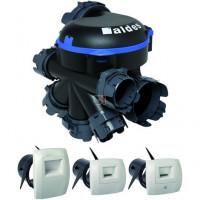 Kit VMC hygroréglable Kit VMC BAHIA Optima Hygro B - Simple flux hygroréglable - Bouches électriques ALDES ref.11033210 ALDES-11033210 de Aldes